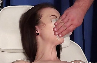 Emilys extreme needle and gagged medical piercing pussy pain of uk slave - 5:34