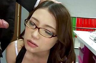 Sweet Ibuki enjoys big cock from behind while at work - 12:00