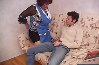 BBW Plump Mom Fucks Sons Friend - 20:32
