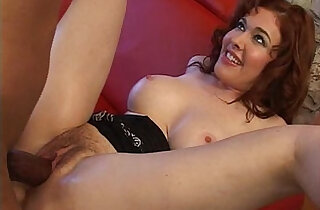 Sexy with her nice tits banged by a big black huge cock - 22:44
