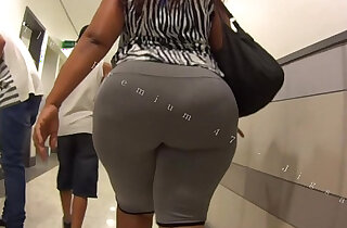 Candid Big Booty Bubble Butt Culo Brazil Thick Curvy Pawg BBW Ass Premium - 2:54