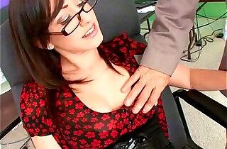 Jennifer White hot secretary fucks her boss - 11:14