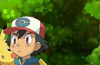 Hentai Pokemon Ash x Pikachu x Jessie Full hd video in - 3:07