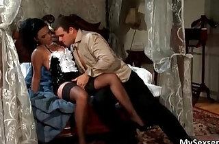 Stunning maid in black stockings loves - 7:00