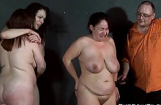 Three slavegirls whipping and extreme punishment to tears of amateur slavesluts - 6:00