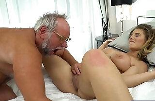 19 yo Aida Swinger pussy and ass eaten and banged by grandpa - 5:31
