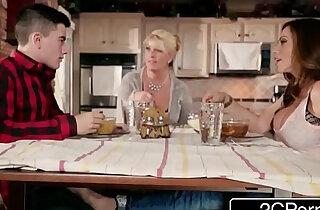 Silly boy gets lucky with moms hot friend ariella ferrera