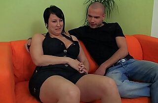 Hot plumper enjoys fingering and cock riding - 7:57