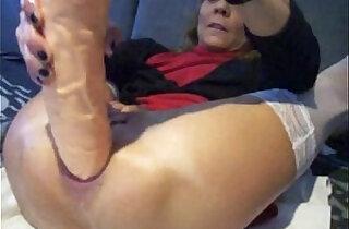extreme anal plug and orgasm - 8:55