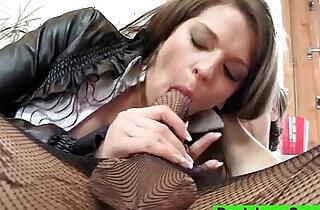 Brunette Michelle aka Mona Lee pantyhose sex - 6:08