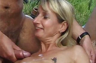SpermAnneke Bukkake Gangbang cum orgie - 1:4:36