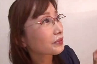 Office Lady Glasses Cumshots Japanese - 7:17