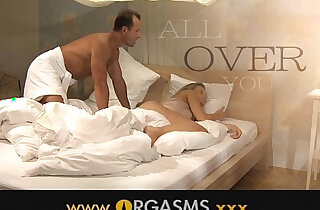 ORGASMS Two cumshots for sexy amateur blonde - 13:11