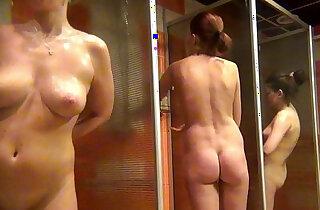 voyeur womens shower fitness club - 3:54