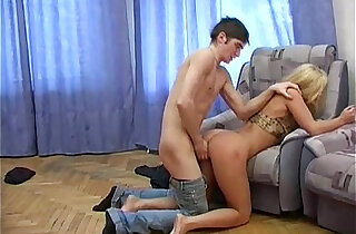 Helpless blonde hottie get her tight anal lubricated and pumped deep - 6:01