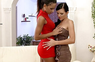 Backdoor Bliss by Sapphic Erotica sensual lesbian sex with Izabella Ema - 15:32