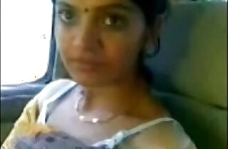 Cute Desi Bhabhi Show Boobs In Car With big ass black Lover - 3:41