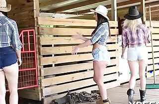 Bffs tease cock of a horny lad - 8:21