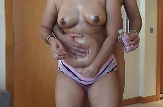 Desi Plump Booty Oiled, Free Indian Porn music Video - 8:56