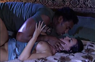 White chick caught in her sleep and banged by a big black man - 18:33