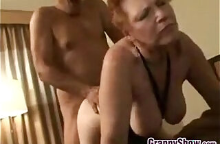 Red Haired Grandma Loves Getting her pussy Pounded - 14:34