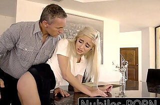 Bad Girl Naomi Woods Spanked And Fucked By Daddy - 9:21
