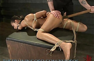 Slave Gets her wet Pussy Pumped and Worked - 10:31