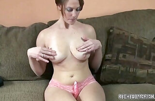 Busty college girl Mariah fucks her twat with dildo - 8:13