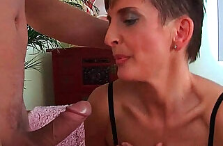Soccer mom in black stockings gets her ass drilled hard - 5:17