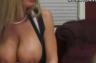 Horny mom and daughter tag teamed to suck fuck a cock - 6:10