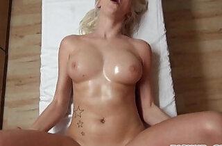Euro masseuse Karol Lilien having hardcore sex for cash - 6:38