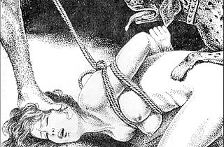 Slaves to rope japanese art bizarre bondage extreme bdsm painful cruel punishment asian fetish - 6:10