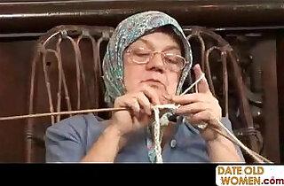 Old Grandma Accepting Big Cock - 21:41