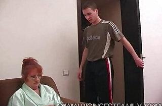 Russian Big Family Grandma Son - 17:46