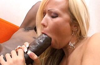 Blonde amateur MILF Loves big Black Cock - 8:30