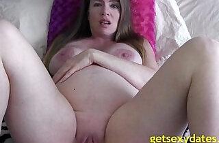 Pregnant mom masturbating to son - 6:50