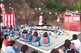 Strange Japanese sex festival watch - 3:22