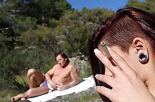 El de Aris Dark Spanish girl having sex in the river Leche 69 - 12:33
