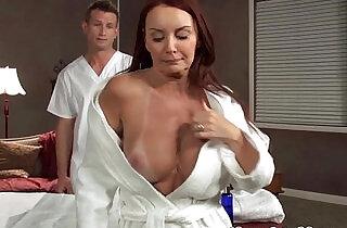 MILF Janet Mason drilled on massage table - 8:42