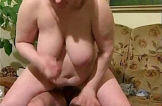 BBW Granny Takes Hard Pounding - 8:05