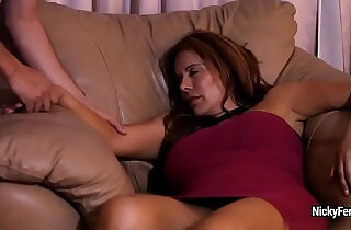 Juicy mature redhead is having a surprise while she sleeping - 5:38