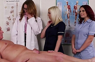 Spex dom CFNM doctor blowing cock - 6:32