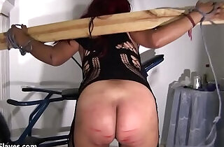 Latina bdsm and electro shock fetish of tortured south american slavegirl in ama - 12:30