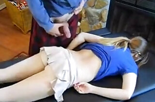 dad massage daughter Claire Heart - 30:05