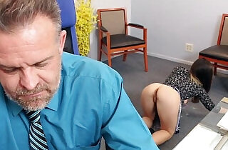 Bambi Brooks gives her dad a hot blowjob - 6:54