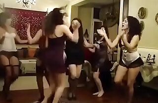 Arabian girlfriends dancing in lingerie - 6:21