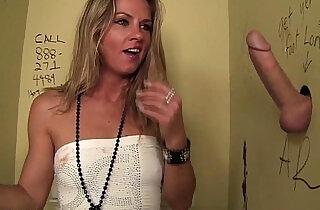 Hot Slut Blows Stranger In Public Bathroom! - 5:43