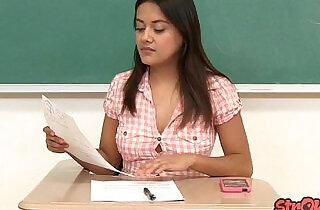 Bad Student Selma Sins Strokes for Better Grade - 21:12