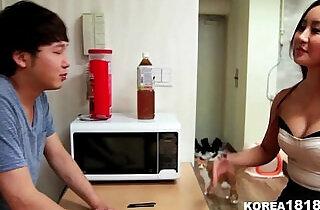 Lucky Korean Virgin Gets to Fuck Hot Korean Babe! - 18:15