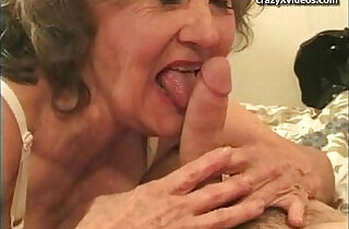 Granny anal threesome - 6:05